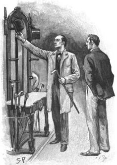 Sherlock Holmes The Crooked Man I'll fill the vacant peg then