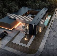 House designs exterior - 49 most popular modern dream house exterior design ideas 8 – House designs exterior Residential Architecture, Contemporary Architecture, Interior Architecture, Houses Architecture, Amazing Architecture, Contemporary Design, Architecture Colleges, Computer Architecture, Enterprise Architecture