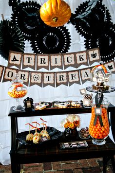 Eerie & Cheery Halloween Party Ideas | Belly Feathers :: Handmade Party Ideas Blog by Betsy Pruitt