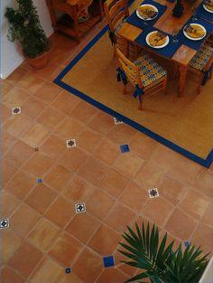 Hand Painted Talavera Tile Patio Project Idea