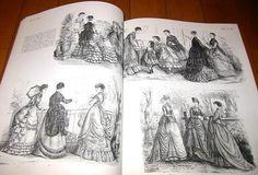 稀少洋書◎ビクトリア朝とエドワード朝時代のファッション◎_画像3