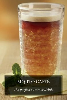 Whether you're enjoying your morning coffee or looking for an afternoon iced treat, treat yourself to a tantalizing Mojito Caffè with fresh mint flavors and subtle hints of cocoa. Your taste buds will appreciate the extra bit of pampering in your routine.