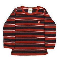 7103a78b77c Pulla Bulla Toddler Stripe T-shirt for ages 1 year- Red