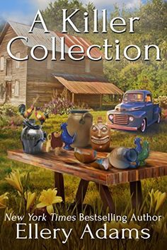A Killer Collection (Antiques & Collectibles Mysteries Book 1) by Ellery Adams, http://www.amazon.com/dp/B00SNJ91SM/ref=cm_sw_r_pi_dp_.i8Wub1JQXCYQ