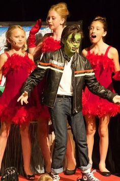 Teenage Nuclear Zombie - The Once Upon A Time Children's Theater in Malibu presents ZOMBIE PROM: The Atomic Edition