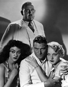 Charles Laughton, Kathleen Burke, Richard Arlen and Leila Hyams - Island of Lost Souls (1932)