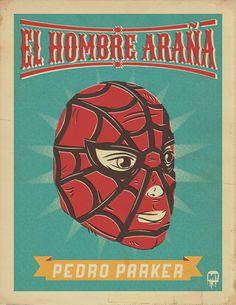 The Idea Monster Blog: Los Luchadores Maravillosos