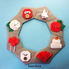 New Year's Crafts, Cute Crafts, Decor Crafts, Holiday Crafts, Diy And Crafts, Crafts For Kids, Paper Crafts, Origami And Kirigami, Origami Easy