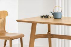 LUPO drewniany stół dębowy styl skandynawski Mebloscenka Design