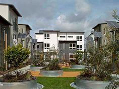 2011 AIA Housing Awards: Multi-family Living-Tassafaronga Village in Oakland, California; designed by David Baker + Partners Architects