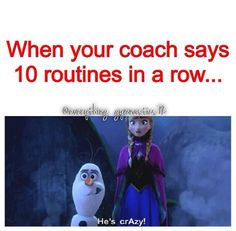 Or even 2 stuck (absolutely no wobbles at all) routines Funny Gymnastics Quotes, Inspirational Gymnastics Quotes, Gymnastics Images, Amazing Gymnastics, Artistic Gymnastics, Gymnastics Problems, Gymnastics Workout, Sport Gymnastics, Gymnastics Things