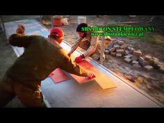 BETON STEMPLOWANY    -   tworzenie podjazdu dla inwalidów  - SBS polski produkt cienkowarstwowy - YouTube