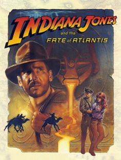 Indiana Jones and the Fate of Atlantis: I love this game! Me and a friend of mine played this on three and half inch floppies on an old PC of mine way way back in the early 90s. I was blown away with the cinematic touches and just how great the characters were. Without a doubt this is one of the best movie character-based games ever made!