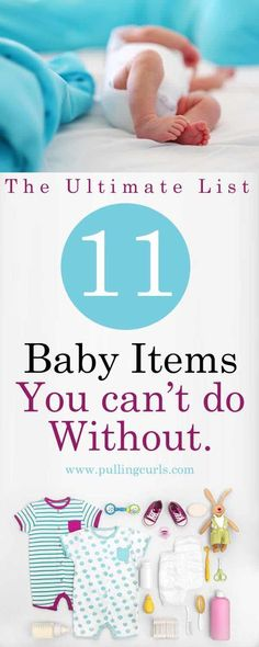 An idea of what is needed... what your baby needs / diapers / onsies / blankets / newborn / nursery / pregnancy