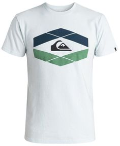 Quiksilver Men's Little Gem Graphic-Print Logo T-Shirt
