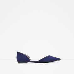 Image 1 of SHOES WITH METAL HEEL AND TOE CAP from Zara
