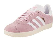 Adidas Women's Gazelle Originals Icey Pink/White/Gold Met...