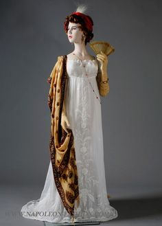 From the Napoleon and the Empire of Fashion Exhibition