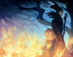 The Curse Of Maleficent (Interiors) on Behance