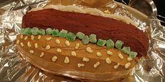 Hot dog cake how to instructions