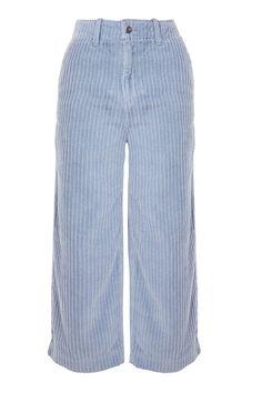Corduroy Wide Leg Trousers - Topshop USA
