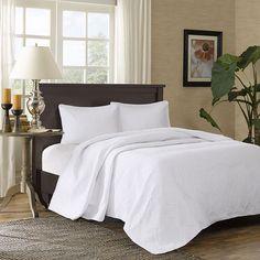 Madison Park Adelle 3-piece Bedspread Set, White