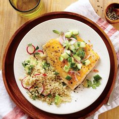 Seared Arctic Char with Cucumber Relish - Quick and Easy Fish and Shellfish Recipes for Dinner Tonight - Cooking Light