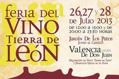 13 Feria del Vino D.O. Tierra de León http://www.vinetur.com/posts/1033-13-feria-del-vino-d-o-tierra-de-leon.html