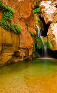 Elves Chasm | Travel | Vacation Ideas | Road Trip | Places to Visit | Supai | AZ | Scenic Point | Natural Feature | Hiking Area | Tour
