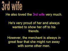 3rd wife