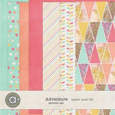 Adventure paper pack 02 by Ange