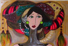 Mulher com turbante ❤