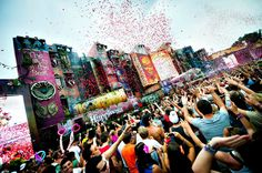 Go to Tomorrowland in Belgium - next one to cross off???