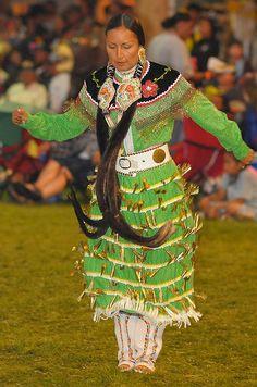 Kamloopa, BC Powwow 2010 Dancer ~ Leah Omeasoo