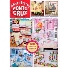 Revista Marileny Ponto Cruz 37 / Magazine Marileny Cross Stitch 37 visit www.marileny.net