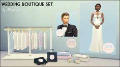 Martine Simblr: Wedding Boutique set • Sims 4 Downloads