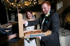 Wow I would love a  This Couple Received A Pair Of Pizza Selfies As A Wedding Gift / http://thesenews.com/this-couple-received-a-pair-of-pizza-selfies-as-a-wedding-gift/
