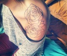 shoulder tattoo | via Tumblr I want this soooo fucking bad