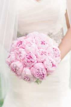 Pink Wedding Bouquets - Belle The Magazine