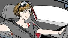 江口寿史 x NEW PEUGEOT 208 GTi TIME DRIVER (4)