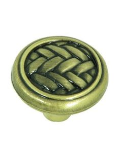 Stone Mill Hardware Harris Cabinet Knobs - Pack of 5 Cabinet Knobs, Cabinet Hardware, Quality Cabinets, Stainless Steel Wire, Folding Doors, Kitchen And Bath, Basket Weaving, Antique Brass, Kitchen Cabinets