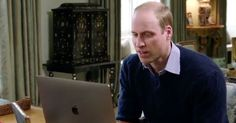 The Duke of Cambridge video called Lady Gaga from Kensington Palace as part of his Heads Together campaign