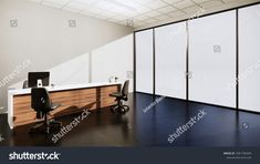 Mock Scene Office Desk Standing Office ภาพประกอบสต็อก 1681796449 Office Desk, Scene, Room, Furniture, Home Decor, Bedroom, Desk Office, Desk, Rooms