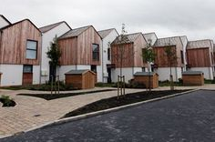 Sinclair Meadows the new carbon neutral social housing estate in South Shields