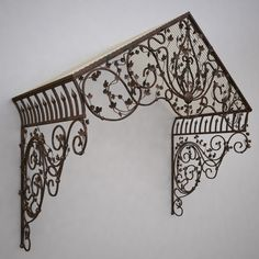 wrought iron canopy max