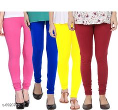 Leggings & Tights  Fancy Fashionista Women Leggings  Fabric: 100% Pure Cotton Lycra Pattern: Solid Multipack: 4 Sizes:  30 (Waist Size: 30 in Length Size: 40 in)  32 (Waist Size: 34 in Length Size: 40 in)  34 (Waist Size: 34 in Length Size: 40 in)  36 (Waist Size: 36 in Length Size: 40 in)  38 (Waist Size: 38 in Length Size: 40 in) Country of Origin: India Sizes Available: Free Size, 28, 30, 32, 34, 36, 38, 40   Catalog Rating: ★3.9 (508)  Catalog Name: Fancy Fashionista Women Leggings CatalogID_1104989 C79-SC1035 Code: 964-6920713-7911