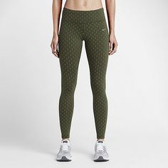 As soon as I slipped on this pair of Nike Epix Lux Flash Running Tights ($150), I knew I'd found my new fav...