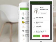 Inventory app by Patryk Sobczak for Tonik