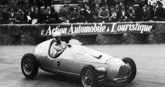 Robert Manzon - Simca Gordini T15 - Équipe Gordini - XI Grand Prix Automobile de Pau 1950 - Non championship Formula 1 race