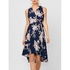 SHARE & Get it FREE | High Low Floral Sleeveless DressFor Fashion Lovers only:80,000+ Items·FREE SHIPPING Join Dresslily: Get YOUR $50 NOW!